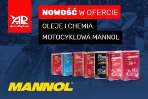 Oleje Mannol w ofercie motocyklowej Auto Partner