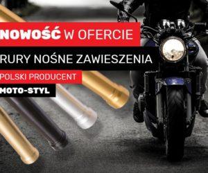 Rury nośne zawieszenia motocyklowego w Auto Partner