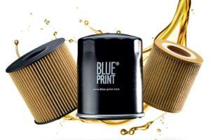 Filtry oleju Blue Print