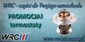 Promocja na zakup termostatów marki WRC