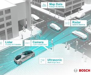 Bosch i Daimler: Kalifornia miastem pilotażowym dla autonomicznej jazdy