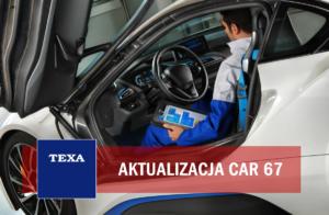 TEXA – aktualizacja oprogramowania CAR 67