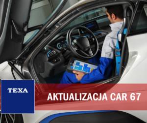 TEXA - aktualizacja oprogramowania CAR 67