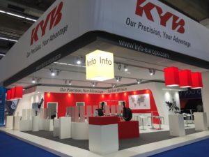 KYB na targach Automechanika 2018