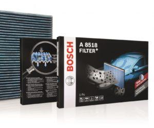 Nowe filtry kabinowe Bosch Filter+