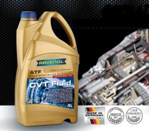 Ulepszona formuła CVT Fluid Ravenol