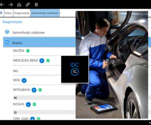 Dodatkowe możliwości TEXA IDC5 CAR