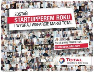 Total poszukuje startupów