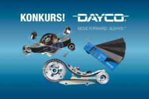 Konkurs DAYCO – pakiet gadżetów do wygrania