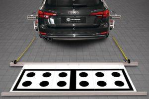 Kalibracja systemu wspomagania kierowcy w warsztacie