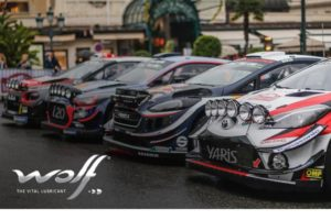 WOLF partnerem World Rally Championship
