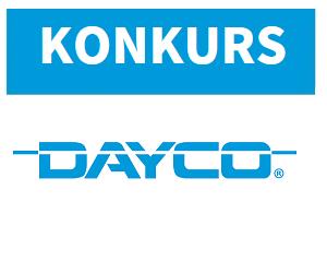 Konkurs DAYCO - pakiet gadżetów do wygrania