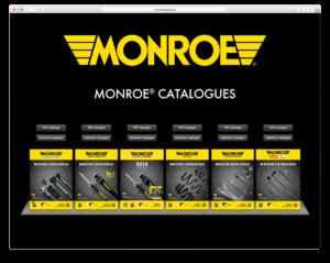 Nowy katalog amortyzatorów Monroe dla lekkich pojazdów