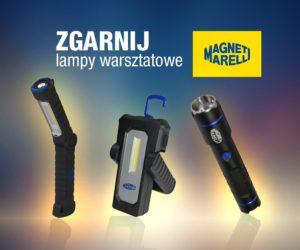 Konkurs Magneti Marelli - czekają lampy warsztatowe