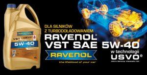 Nowy olej syntetyczny RAVENOLU