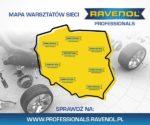 Czym jest mapa sieci warsztatów Ravenol Professionals?