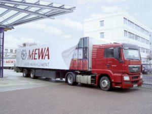 Wynajmowanie tekstyliów przemysłowych w ofercie Mewa