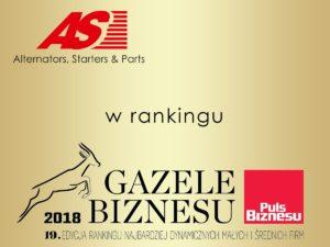 AS-PL w rankingu Gazele Biznesu