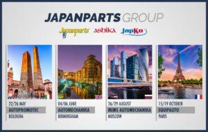 Plany targowe Japanparts na 2019 r.
