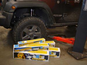 Amortyzatory BILSTEIN do Jeepa Wranglera