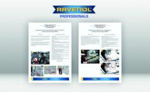 Nowe procedury wymiany oleju ATF na stronie Ravenol