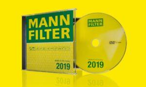 Nowy katalog MANN-FILTER na płycie DVD