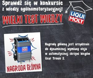 Liqui Moly uruchamia Test Wiedzy dla mechaników
