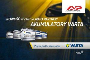 Nowość w ofercie Auto Partner – akumulatory VARTA
