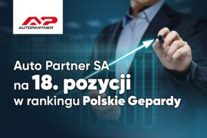 Auto Partner na 18. miejscu Polskich Gepardów