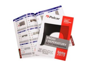 Progi i reperatury do aut dostawczych – nowy katalog Polcar