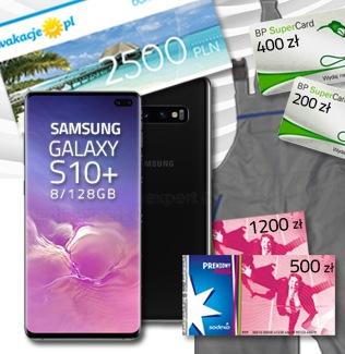 Samsung Galaxy S10+ za zakupy w Auto Partner