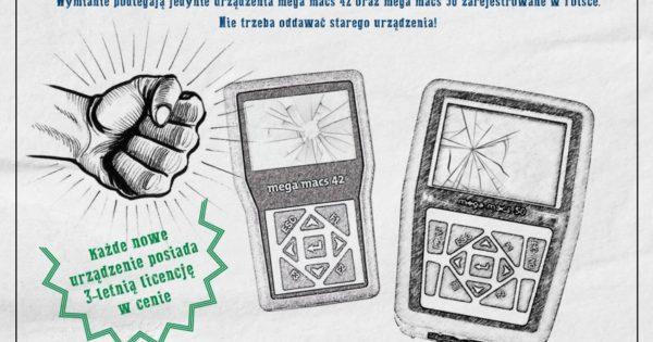 Wymiana urządzeń mega macs przez Hella Gutmann