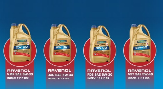Promocja RAVENOL 4+1L GRATIS