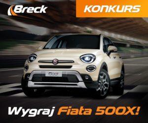 Postaw na klocki Breck i odjedź własnym Fiatem 500X!