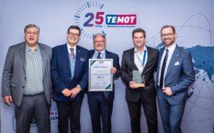 TMD Friction otrzymuje nagrodę TEMOT za wsparcie