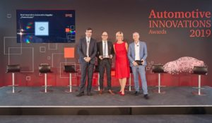 Hella otrzymuje nagrodę Automotive Innovations Award