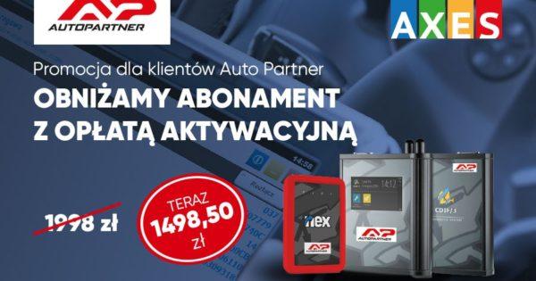 Auto Partner obniża opłatę aktywacyjną AXES