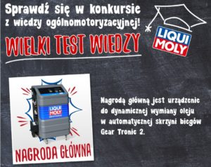 Druga część Wielkiego Testu Wiedzy Liqui Moly