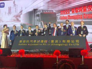 Szósty zakład UFI Filters w Chinach
