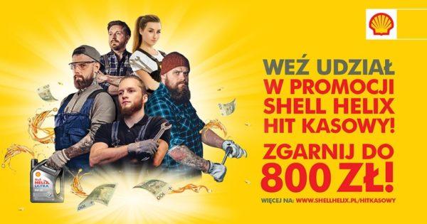 Promocja Shell Helix Hit Kasowy