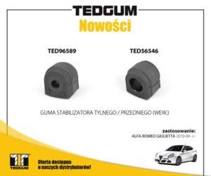 Gumy stabilizatora do Giulietty od TEDGUM