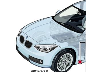 BMW seria 1: Odgłos buczenia spod pojazdu podczas jazdy z wyższą prędkością