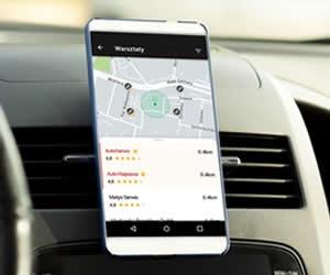 Warsztaty samochodowe oceniane w aplikacji Yanosik