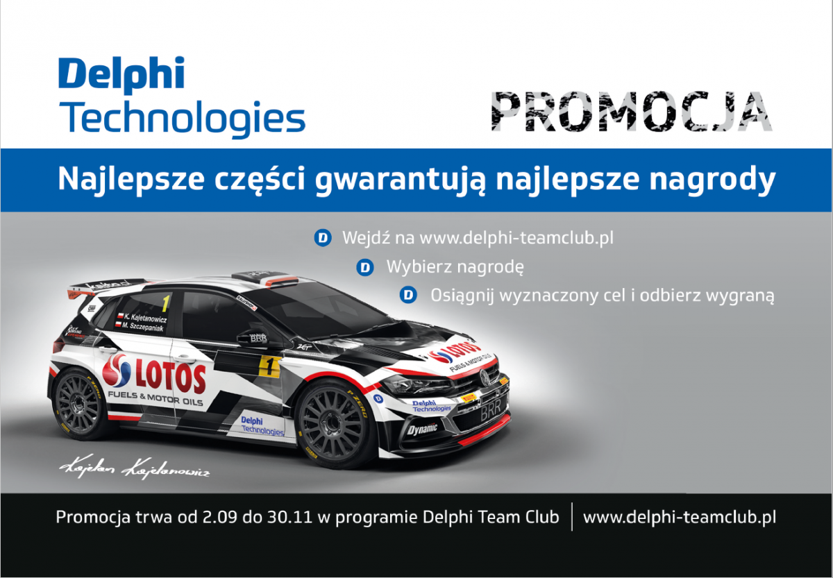 Jesienna promocja Delphi Technologies Aftermarket