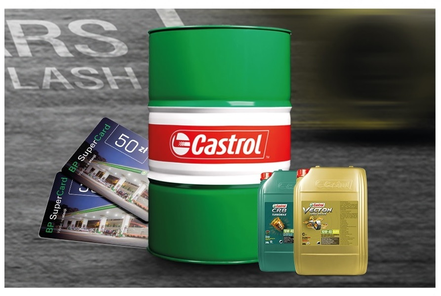Zdobądź kartę BP od Castrola
