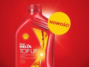 Shell Helix Top Up – pierwszy uniwersalny olej na dolewki