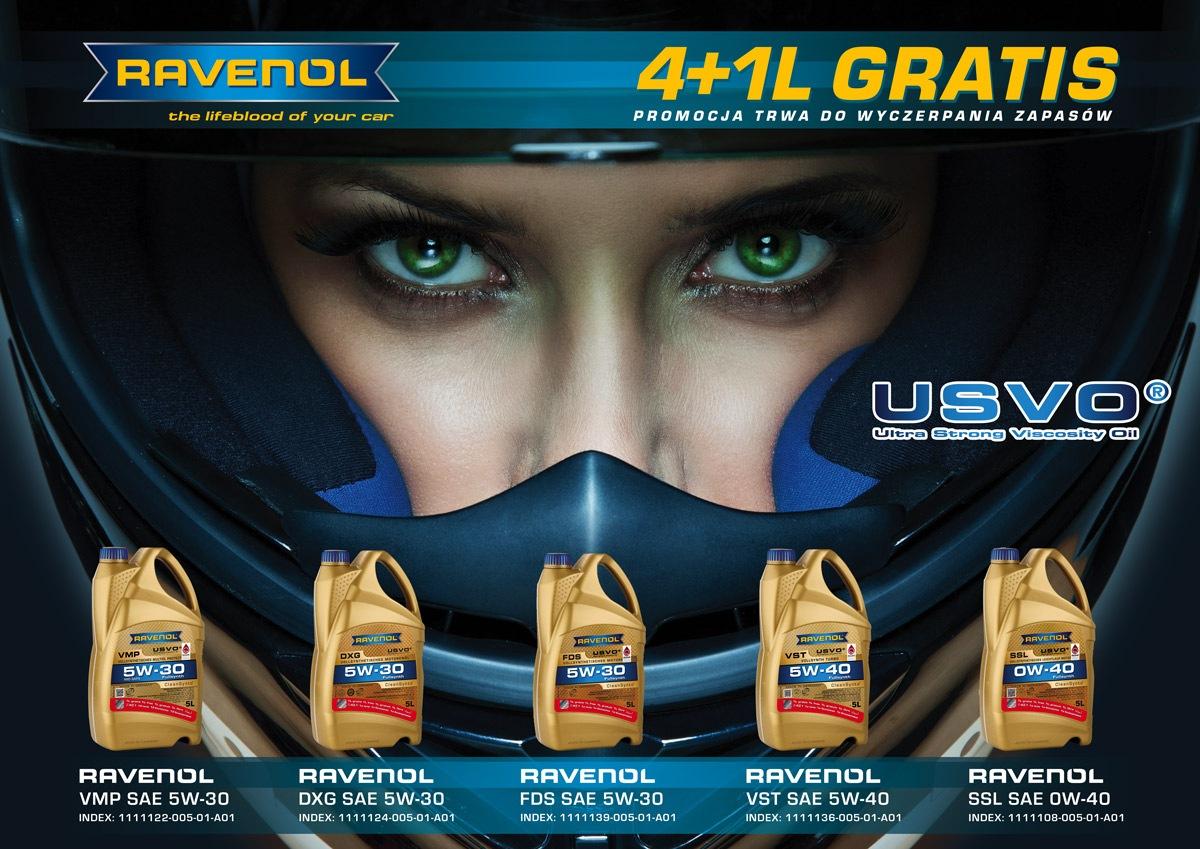 Ravenol rusza z promocją 4+1L gratis