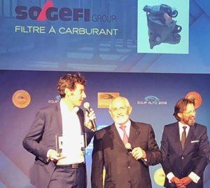 Sogefi zdobywa nagrodę za ekologiczny filtr paliwa