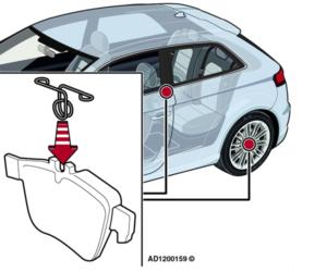 Audi A3: odgłos grzechotania z tyłu pojazdu podczas jazdy po nierównej nawierzchni