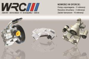 Nowe produkty w ofercie WRC